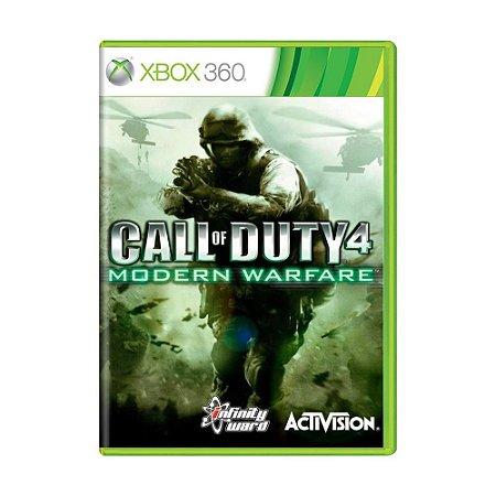 Jogo Call Of Duty Modern Warfare 4 - Xbox 360 Usado