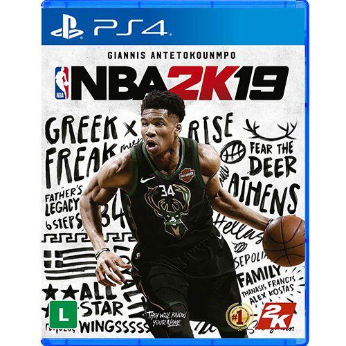 Jogo NBA 2K19 - PS4 Usado