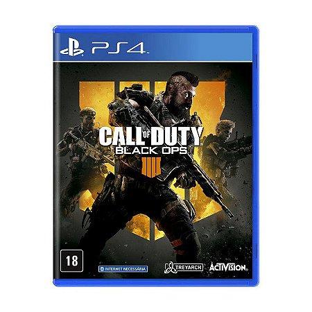 Jogo Call of Duty: Black Ops 4 - PS4 Usado