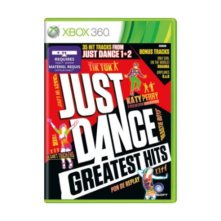 Jogo Just Dance: Greatest Hits - Xbox 360 Usado