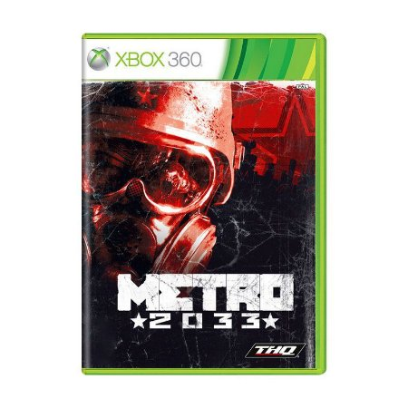 Jogo Metro 2033 - Xbox 360 Usado