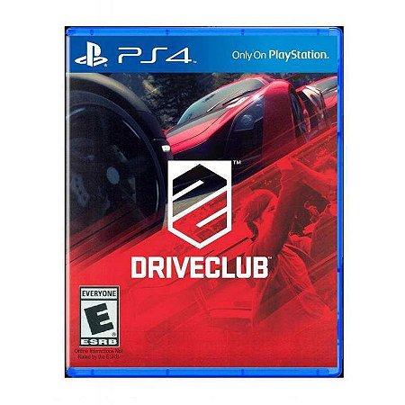 Jogo Driveclub - Ps4 Usado
