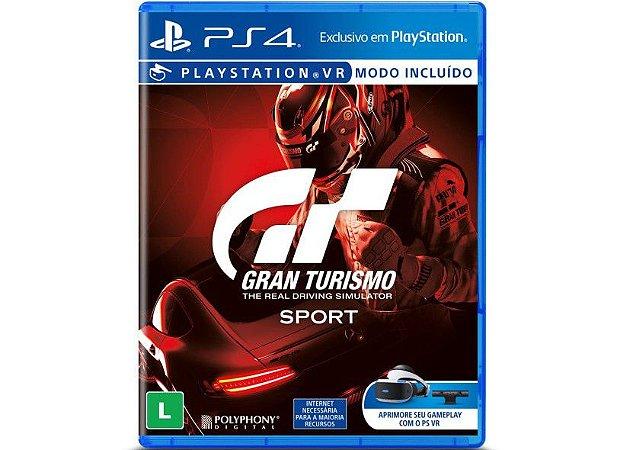 Jogo Gran Turismo GT Sport - Ps4 Usado