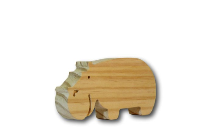 Enfeite para quarto infantil Hipopótamo Popota