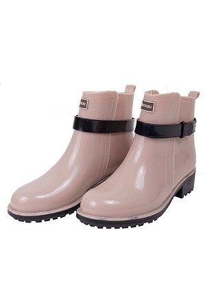 3e3058e21af Késttou Galocha Bota Cano Curto - Jaque Kuver Sapatos e Estilo