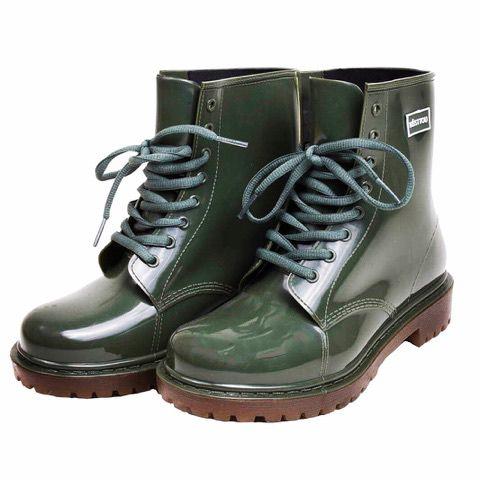 3931b697c3e Galocha Késttou cano curto na cor verde - Jaque Kuver Sapatos e Estilo