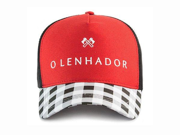 Boné O Lenhador Lumberjack Red