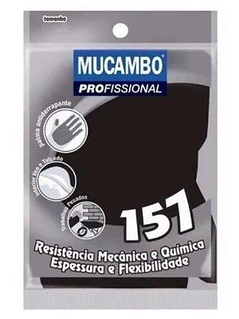 LUVA MUCAMBO PR P/PEDREIRO G M XG