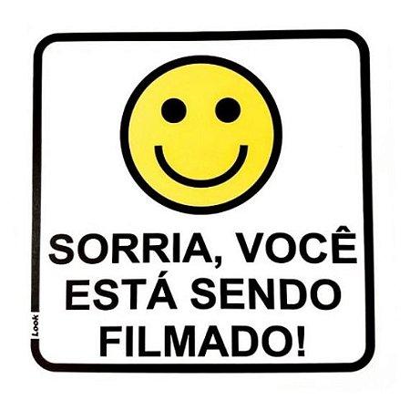 PLACA 15X15 SORRIA/FILMADO