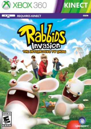Rabbids Invasion: O Show Interativo Da Tv - Xbox