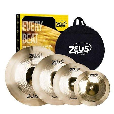 Kit de pratos - Zeus Evolution PRO SET D