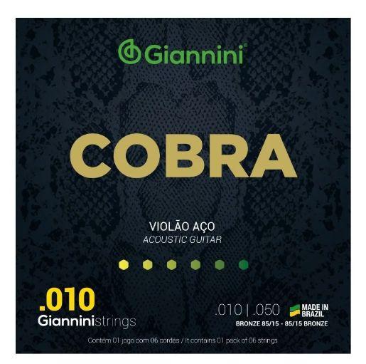 Encordoamento   Giannini Cobra 85/15