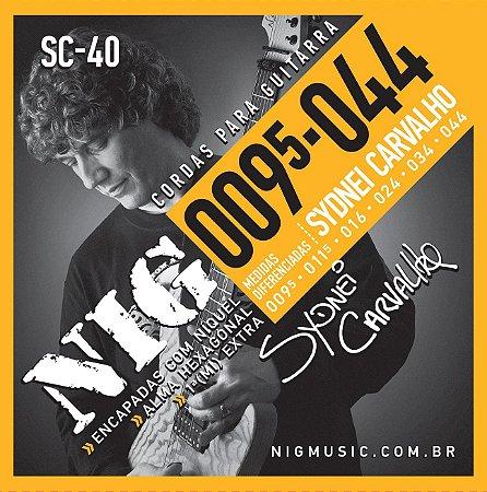 NIG 095-044 - Para guitarra corda de aço SC