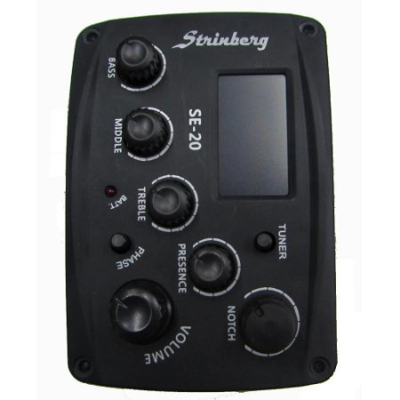 Pré Amplificador - Completo para violão Strinberg Se-20