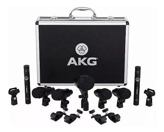 Drum Set Session I - AKG