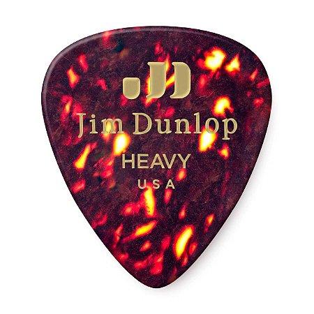 Palheta Dunlop Pesado - Celuloide
