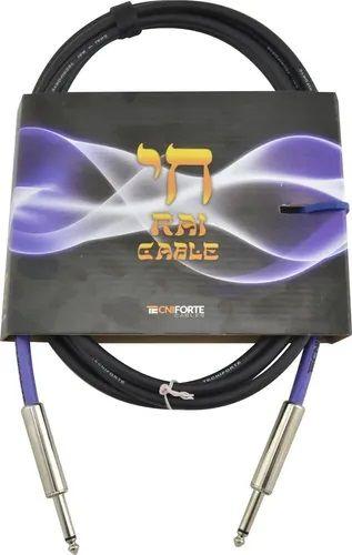 """Cabo TECNIFORTE RAI CABLE/ """"RETO"""" - P10 X P10 - 6,09mm"""