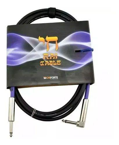 """Cabo TECNIFORTE RAI CABLE/ """"L"""" - P10 X P10 - 4,58mm"""