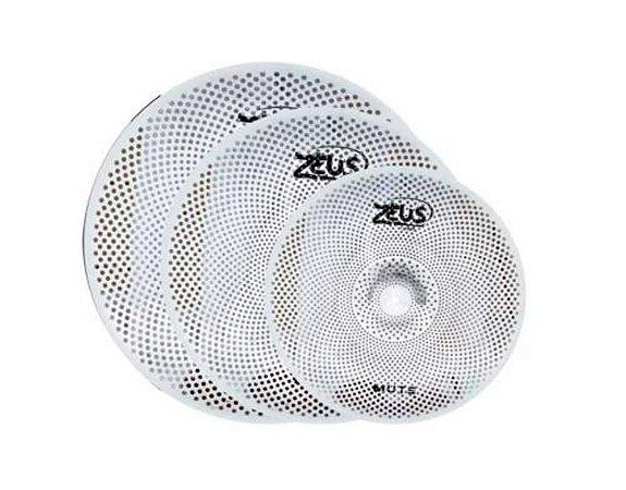 Zeus Mute - Set C - Hi-Hat 14 /Crash 16 /Ride 20