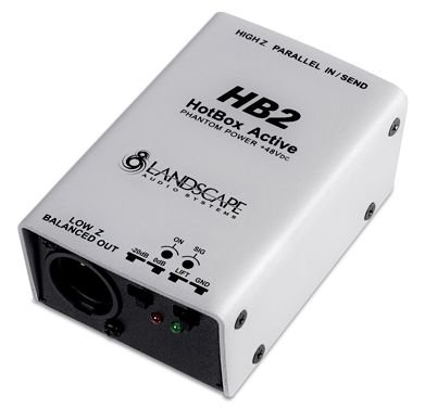 Direct Box Landscape Ativo - Phantom Power - HB2