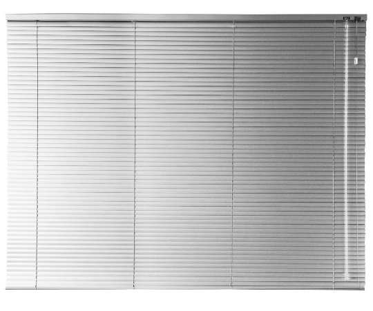 Persiana Horizontal 25 mm 1,30 m largura e altura de 0,80 cm até 2,30 m Acionamento Direito
