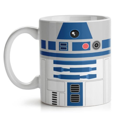 Caneca Geek Side Faces - R2