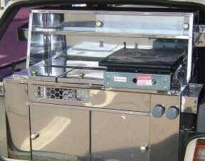 kit de Hot Dog Todo Inox com Panelas de Banho Maria Uno, Gol e outros Hatch