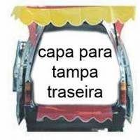 Capa para Tampa Traseira com Babado para  Towner, Uno, Gol, Celta, Ka e outros Hatch