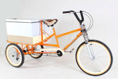 Food BikeTriciclo para Açai