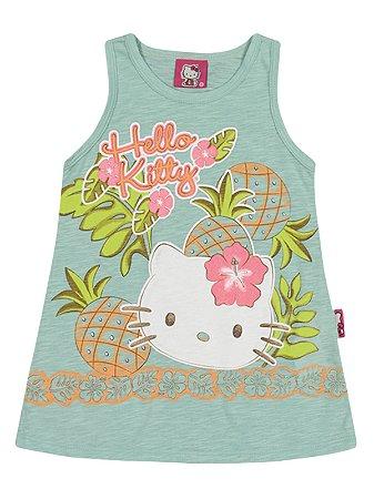 Regata em Malha Flamê Tropical Hello Kitty