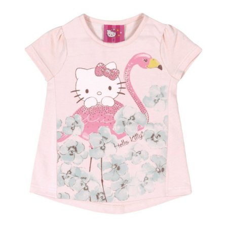Blusa Flamingo Rosa Hello Kitty