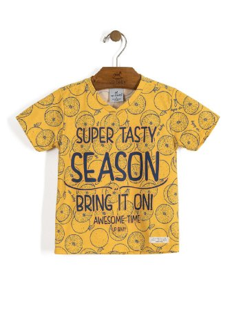 Camiseta Manga Curta Super Tasty Season Up Baby