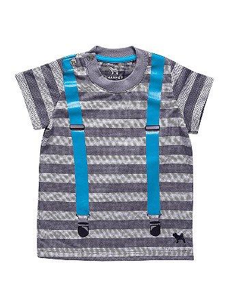 Camiseta Suspensório manga curta Charpey