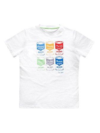 Camiseta Latas Manga Curta Charpey