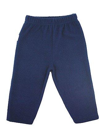 Calça em Micro Soft Azul Marinho Be Little