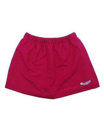 Shorts Saia em Moletinho Pink Be Little