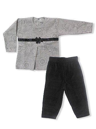 Conjunto Blusa e Calça em Plush Charm Be Little