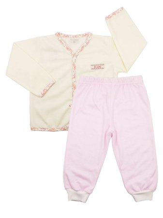 Pijama Pluminha Wessel Creme Be Little