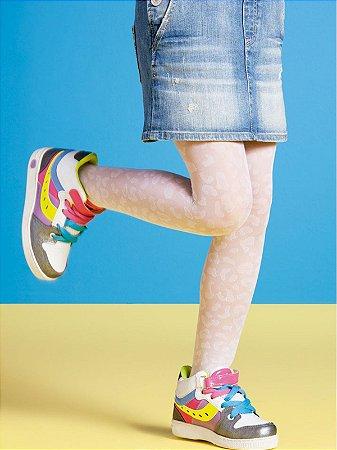 Meia Calça Onça Kids 20 Denier Branca Puket