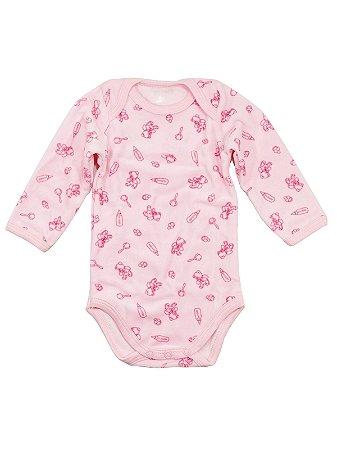 Body para Bebê Prematuro Be Little Bear Plush Rosa - Baboobee ... 8a0d0552e06