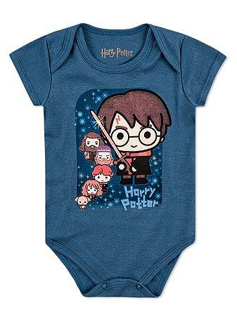 Body Marlan Curta Harry Potter Azul