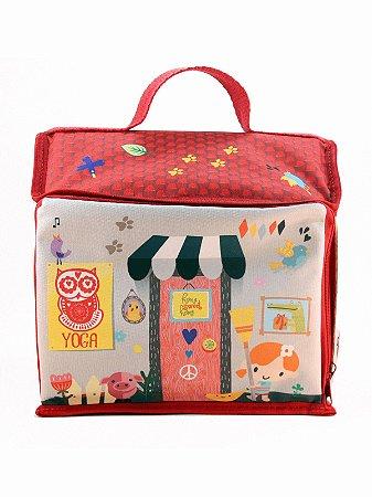 Bolsa Ó Design Infantil para Brinquedo Casinha
