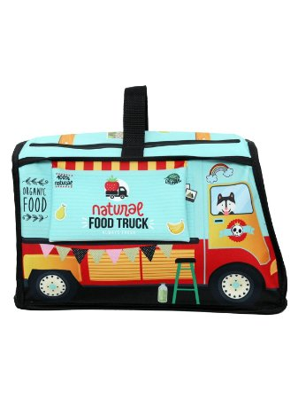 Mochila Ó Design Infantil para Brinquedos Food Truck Verde