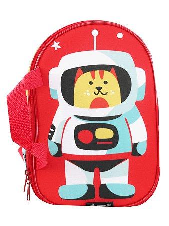 Lancheira Térmica Ó Design Infantil Animais no Espaço