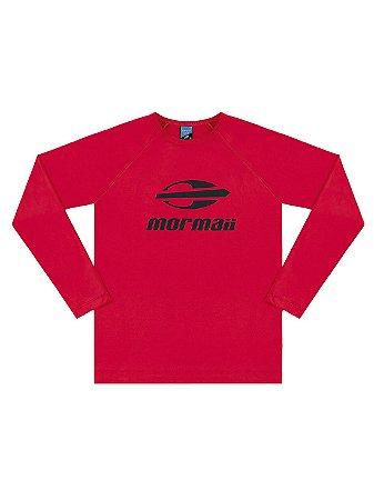 Camiseta Surfista Marlan Mormaii Longa FPS Vermelha