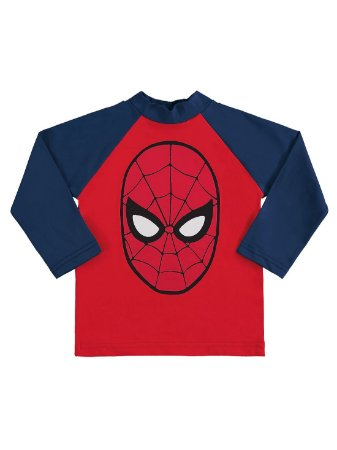 Camiseta Surfista Marlan FPS Longa Avengers Homem Aranha