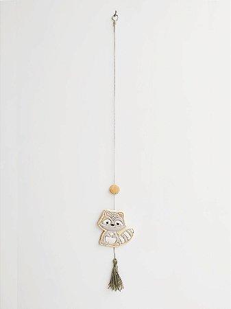 Móbile Decorativo Ceramekids para quarto de Bebê Guaxinim