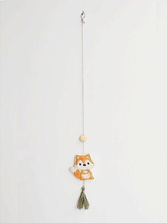 Móbile Decorativo Ceramekids para quarto de Bebê Raposa