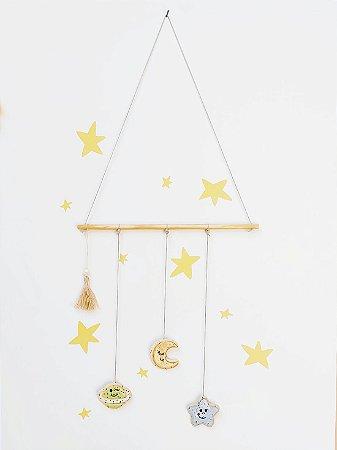 Móbile Decorativo Ceramekids para quarto de Bebê Espaço