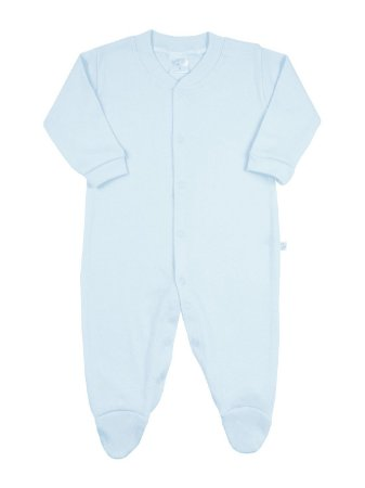 Macacão para prematuro Ami de Lit Longo Malha Pezinho Azul